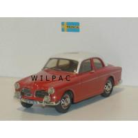 Volvo Amazon 1967 123GT rood wit grijs Somerville #136 schade Bijenkort