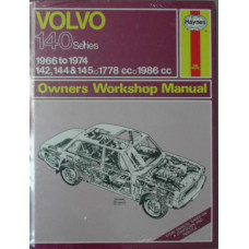 Boek: Volvo 140 Haynes #129 Workshop Manual Engelstalig hardback