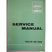 Boek: Volvo 140 Volvo Dealer Workshop Manual 1969 Engelstalig
