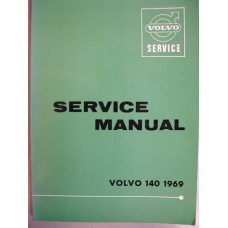 Boek: Volvo 140 Volvo Dealer Workshop Manual 1969 Engelstalig