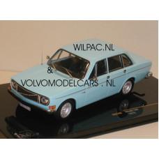 Volvo 144 1972 saffierblauw IXO 1:43