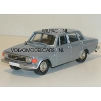 Volvo 144 1973 l.blauw met. Rob Eddie RE02 1:43