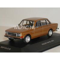 Volvo 144 1972 goud metallic IXO Replicars 1:43