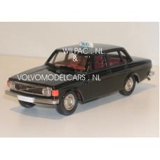 Volvo 144 1973 Taxi zwart Rob Eddie RE02x 1:43