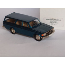 Volvo 145 1973 blauw groen metallic Rob Eddie 1:43 RE15