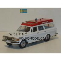 Volvo 145 Express 1973 Ambulance Rob Eddie 1:43 RE15X