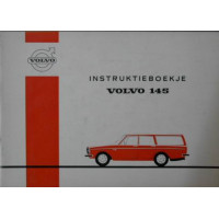 Instructieboek Volvo 145 1971 Nederlands