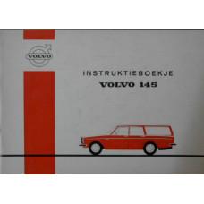 Instructieboekje Volvo 145 1971 Nederlands
