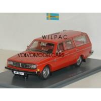 Volvo 145 1969 rood / oranje NEO 1:43