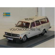 Volvo 145 1969 wit NEO 1:43