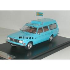Volvo 145 Express 1969 blauw Premium X 1:43