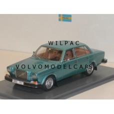 Volvo 164 1974 blauw metallic NEO 1:43