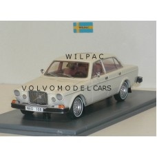 Volvo 164 1974 wit met whitewalls NEO 1:43