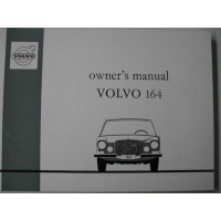 Instructieboek Volvo 164 1972 Engels