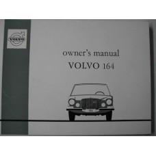 Instructieboek Volvo 164 1972 Engels
