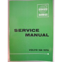 Boek: Volvo 164 Dealer Workshop Manual 1970 Engelstalig