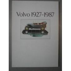 Boek: Volvo 1927-1987 Nederlandstalig