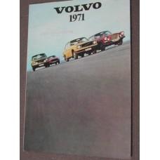 Folder Volvo 1971 overzicht NL