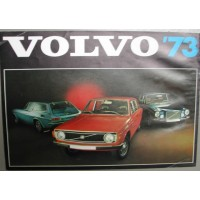 Folder Volvo 1973 164 144 P1800ES NL