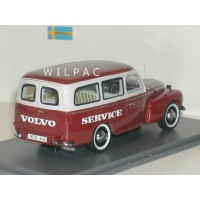 Volvo P210 PV445 Duett rood/grijs Service NEO 1:43