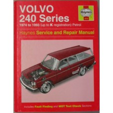 Boek: Volvo 240 Haynes Workshop Manual Engelstalig softback