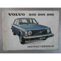 Instructieboekje Volvo 240 1976 Nederlands handleiding
