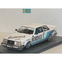 Volvo 240 Turbo ETCC 1986 Cecotto Olofsson RAS Nordica #1 NEO 1:43 Gr.A