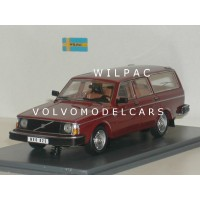 Volvo 245 240 Estate 1978 donkerrood NEO 1:43