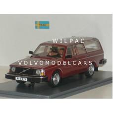 Volvo 245 240 Estate 1978 donkerrood NEO 1:43