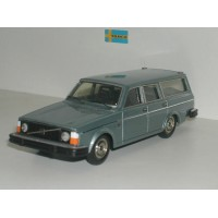 Volvo 245 240 Estate 1975 blauw metallic Tin Wizard 1:43
