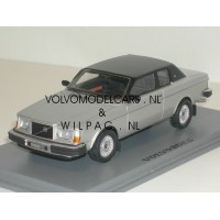 Volvo 262C Bertone  zilvergrijs met. 1979 NEO 1:43