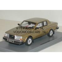 Volvo 262C Bertone goud metallic 1981 NEO 1:43