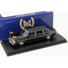 Volvo 264TE zwart DDR Staats Limousine BoS 264 1:43