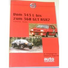 Boek: Volvo 343 L bis zum 360 GLT RSX2 - Duitstalig