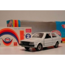 Volvo 343 wit / Hotwheels - Polistil 1:43