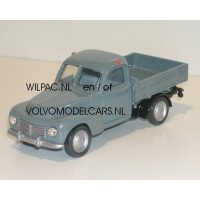 Volvo PV445 Duett Pickup blauw grijs R&M 1:43