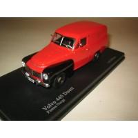 Volvo PV445 Duett 1956 rood zwart Troféu NC006 1:43