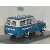 Volvo P210 PV445 Duett blauw/grijs Service NEO 1:43