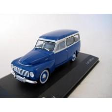 Volvo PV445 Duett 1953 blauw grijs Whitebox 1:43