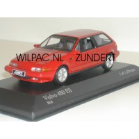 Volvo 480 ES rood Minichamps 1:43