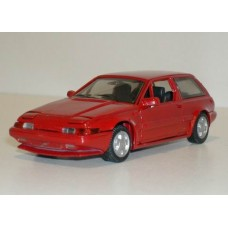 Volvo 480 Turbo rood AHC  Doorkey 1:43
