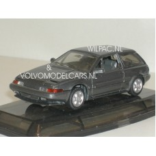 Volvo 480 Turbo d.grijs met. AHC Doorkey 1:43