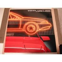 Boek: Volvo 480 ES introductieboek Engelstalig