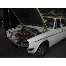 1972 Volvo 144 Automatic wit + CAROSSERIE + LPG orig. NL auto