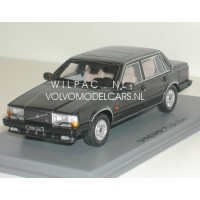 Volvo 740 Turbo 1987 antraciet met. NEO 1:43