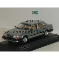 Volvo 740 GL 1986 lichtgroen metallic Minichamps 1:43