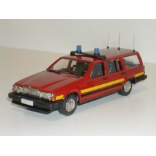 Volvo 740 Estate 1987 Brandweer Volvo Rob Eddie 1:43 RE34