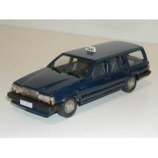 Volvo 740 Estate 1987 Taxi donkerblauw Rob Eddie 1:43 RE34