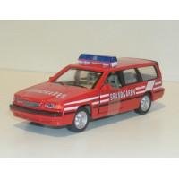 Volvo 850 Estate 1995 Brandweer Zweden Junior 1:43