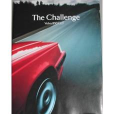Boek: The Challenge Volvo 850 GLT Engelstalig